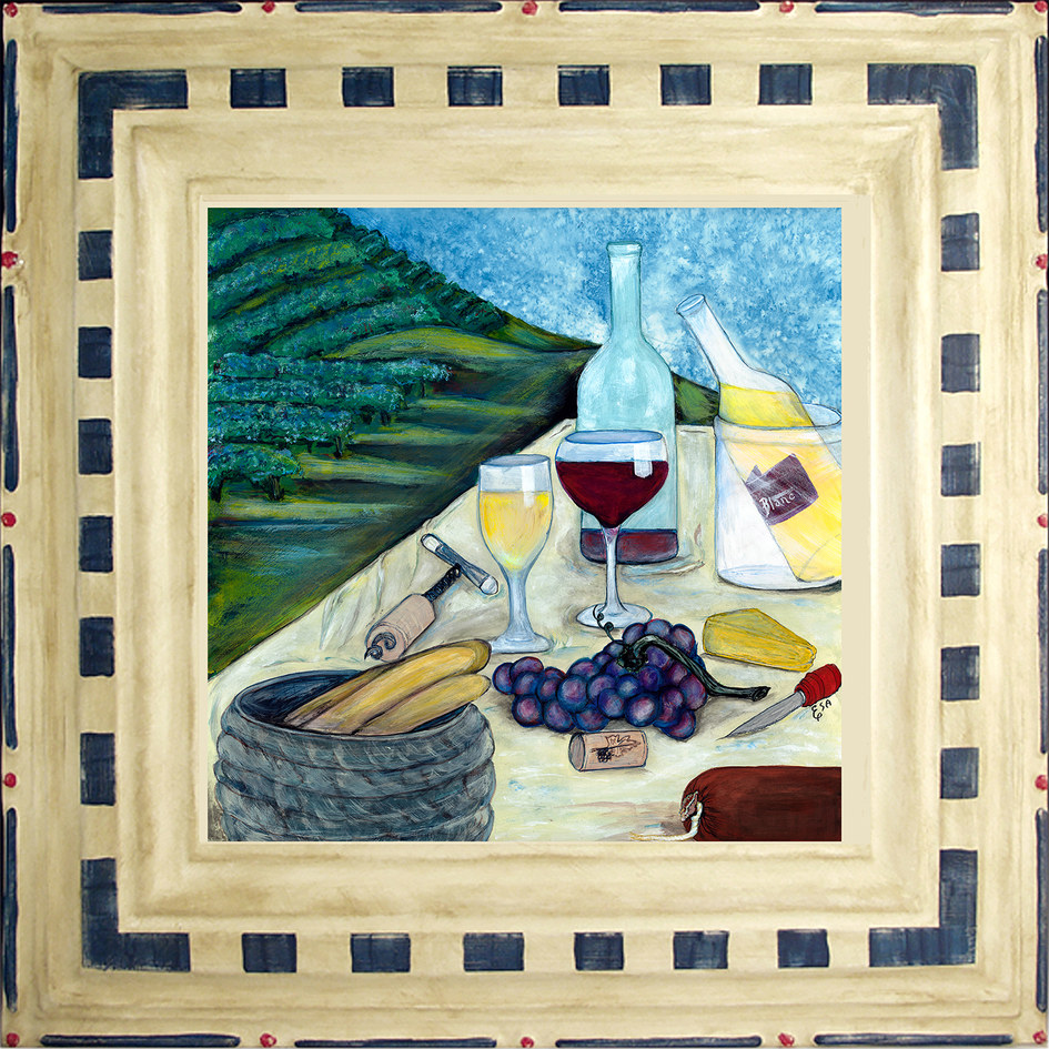 Wine Table with Cheese ~ $150