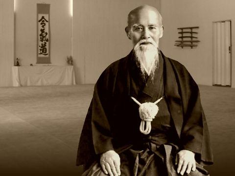 Morihei Ueshiba O'Senseï Institut Français d'Aïkido