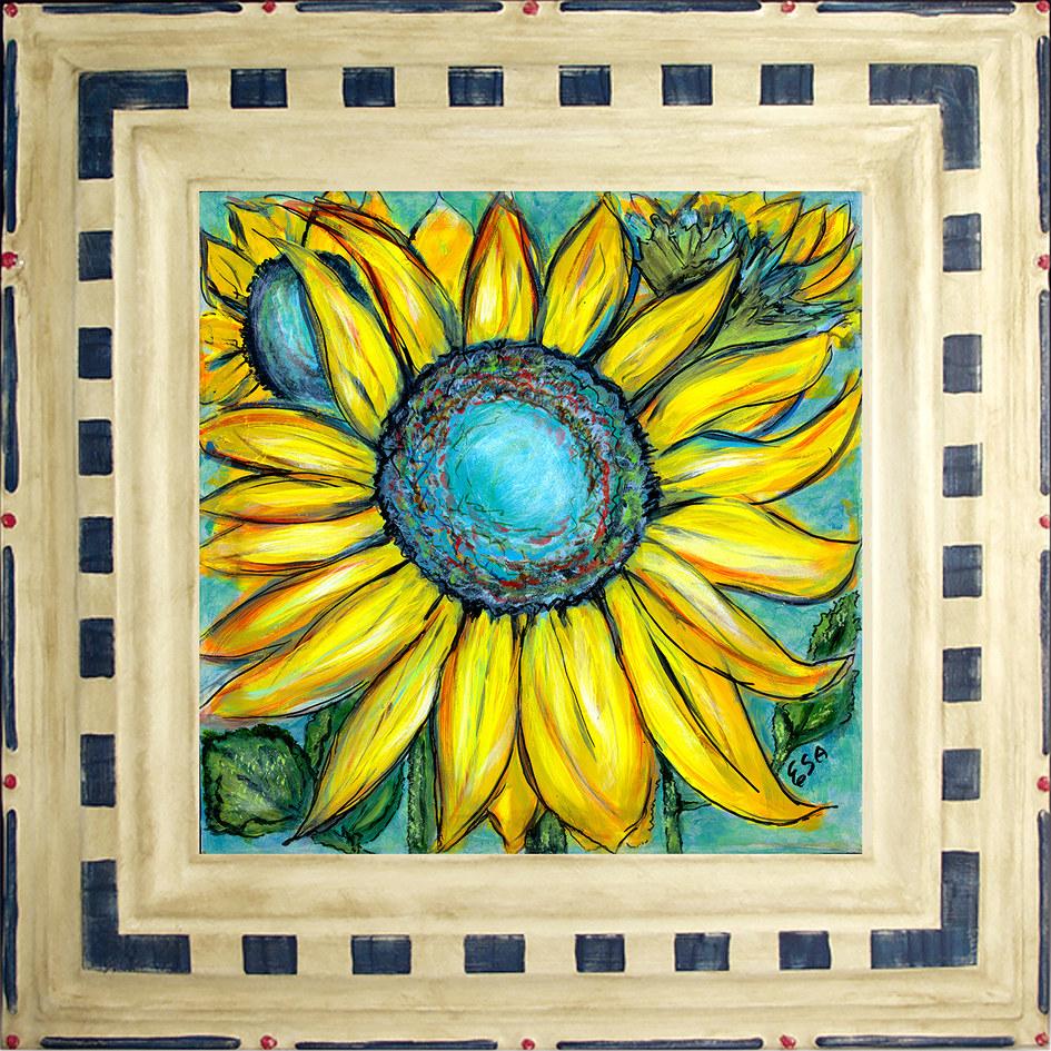Sunflowers in Repose ~ $150