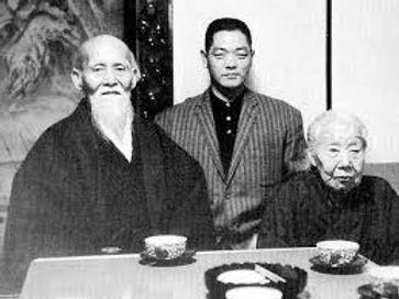 Kobayshi et les fondateurs de l'aïkido