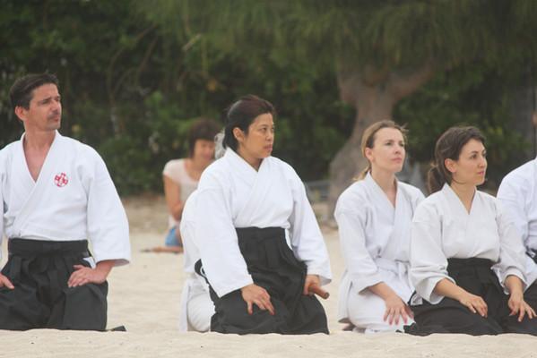 Cours aïkido club de La Réunion