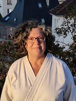 Valérie Ayache, professeur aïkido, club de Dijon, AKOM