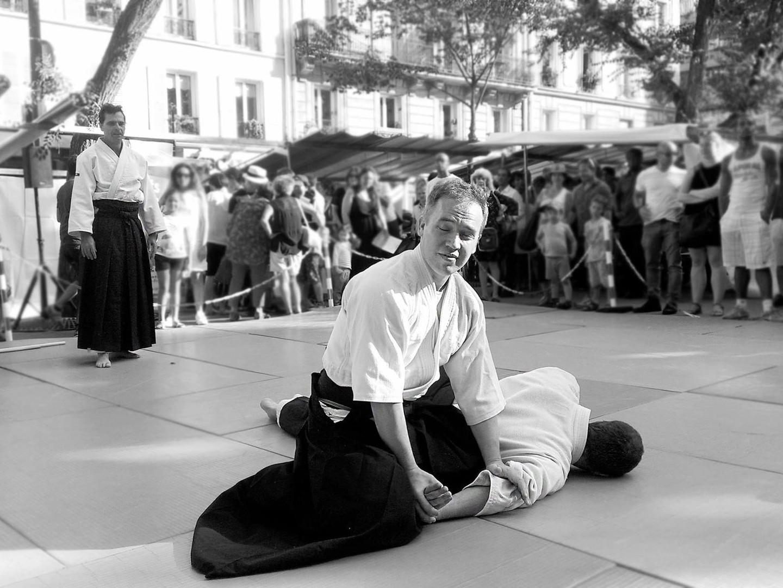 Cours d'aïkido club de Paris