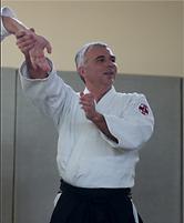 René Barioz, professeur aïkido club de Francheville