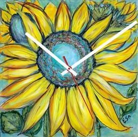 Sunflowers in Repose ~ $48
