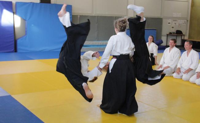 Cours d'aïkido club de Saint Pierre de Chandieu