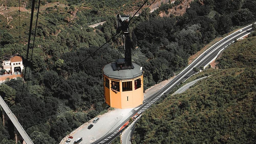 monseratt cable car