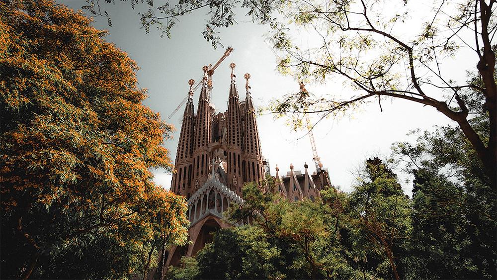 sagrada familia chapel barcelona