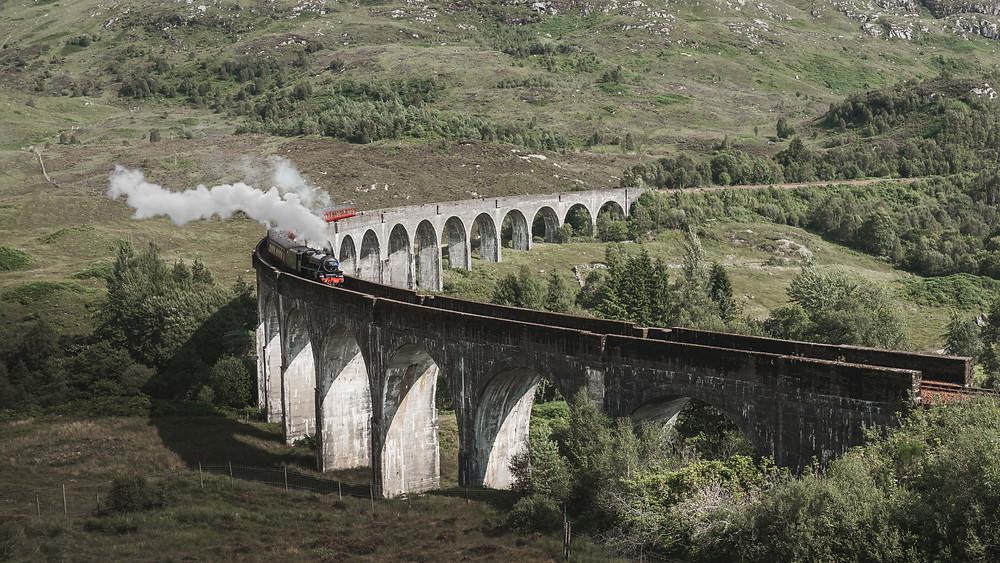 Jacobite Harry Potter Steam Train Glenfinnan