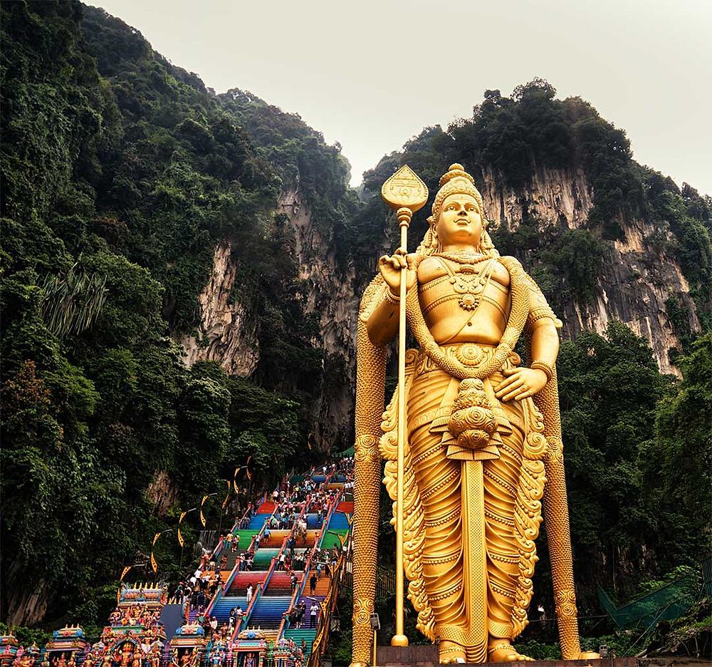 Batu Caves Statue Kuala Lumpur