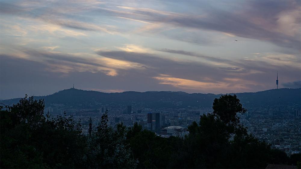 barcelona twilight viewpoint