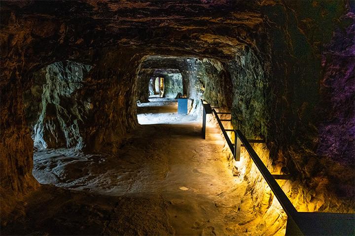 Bock Casemates underground tunnel network