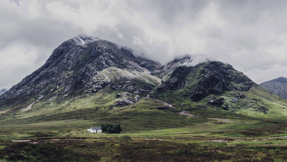 Rocky Mountain Glencoe with Little House