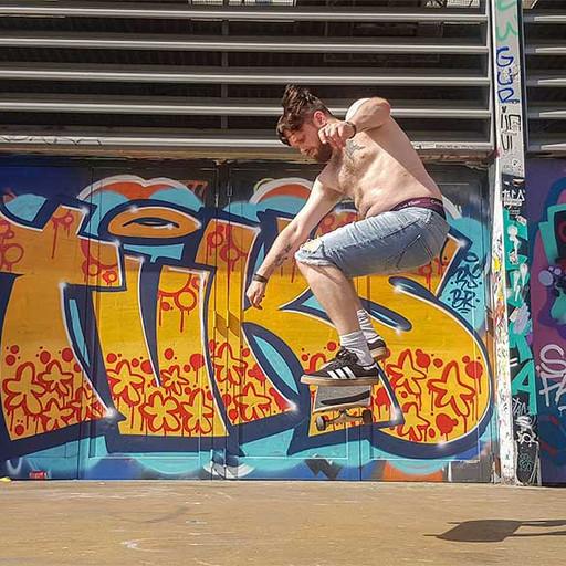 Four nights in Barcelona; Skateboarding, street art and steps!