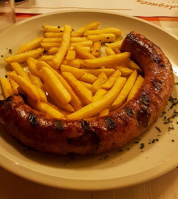 Bottifara Sausage and Fries