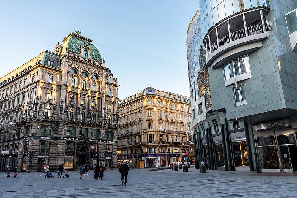 Vienna at Christmas - Stephansplatz