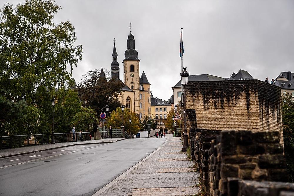 Luxembourg City Centre Bridge