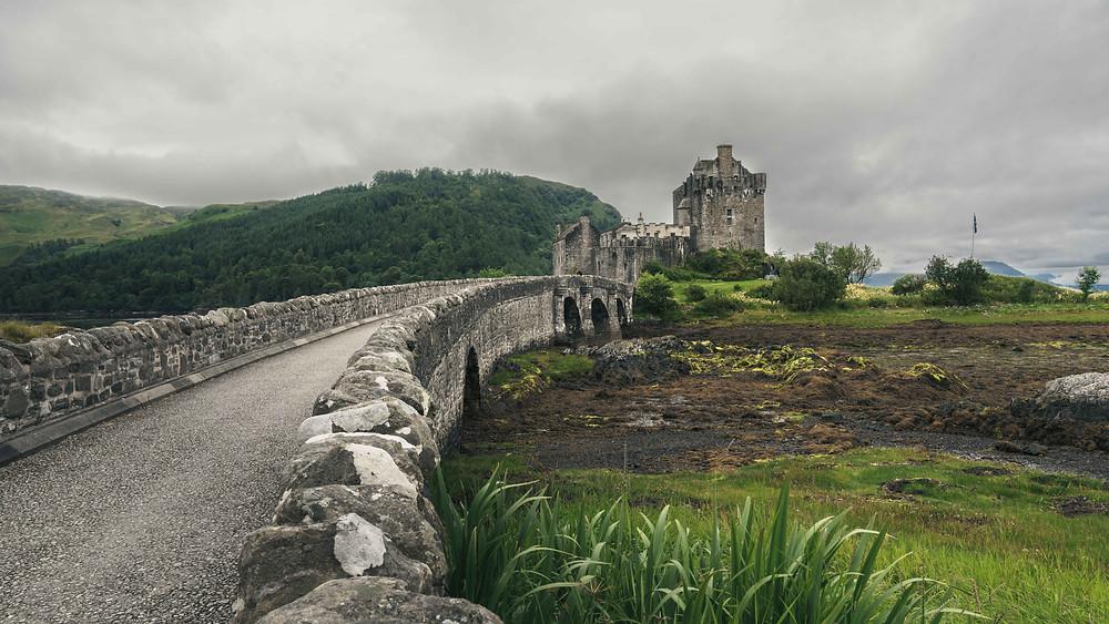 Eilean Donan Castle Bridge Scotland
