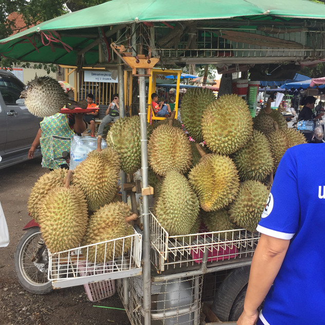 Durian Fruit Stall