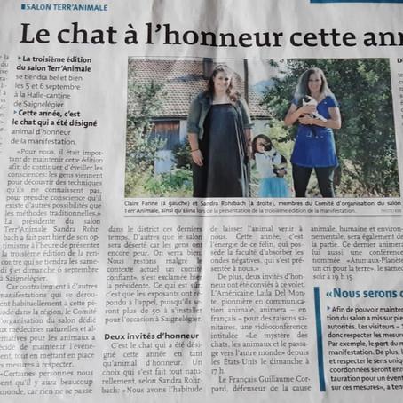 Article du Franc Montagnard du 1.09.2020