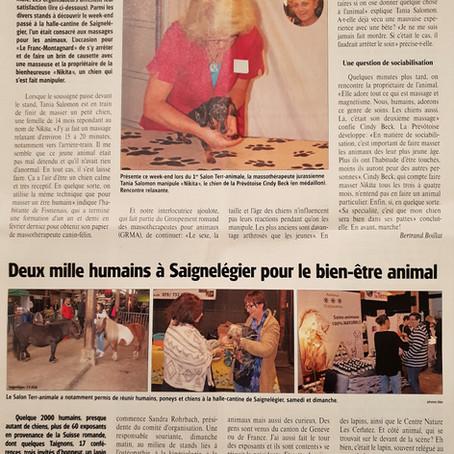Le Franc-Montagnard, 4 septembre 2018
