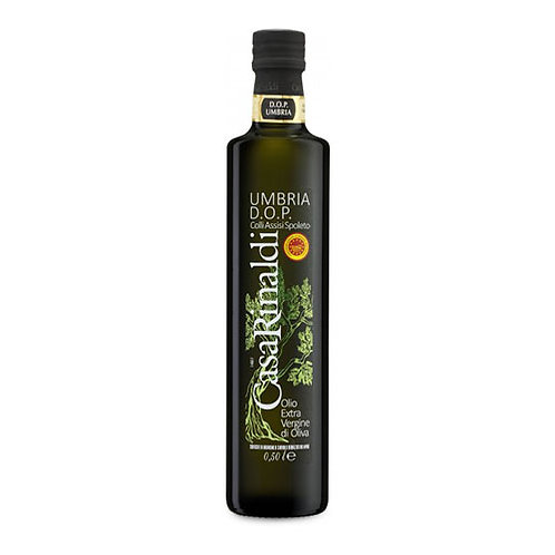 "Huile d'olive EVO ""Colli Assisi Spoleto DOP"" (Umbria) - 500 ml."