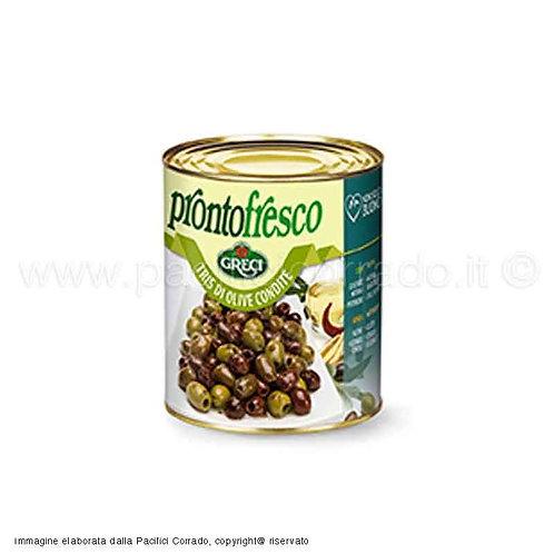 Tris di Olive condite - 780 gr.