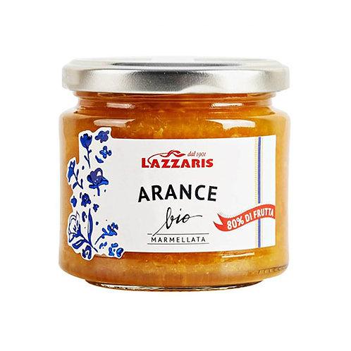 Marmelade d'Orange Bio 'Lazzaris' - 230 gr.
