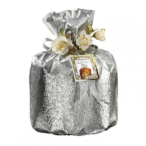 Tall Milano Panettone Silver Bag 5 Kg