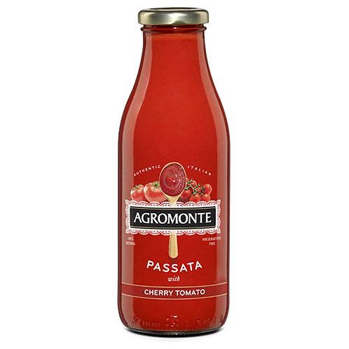 "Puree de tomates cerises ""Agromonte"" - 360 gr."