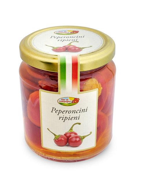 """Peperoncini ripieni """"Fior di Campagna"""" - 280 gr."""