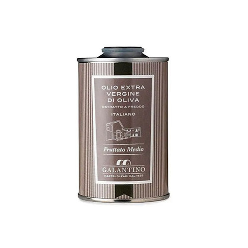 """Huile d'olive extra vierge moitié fruité """"Frantoio"""" en tin - 250 ml"""