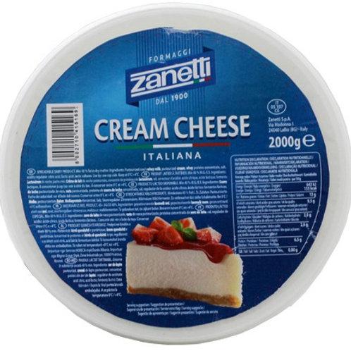 Cream Cheese - 2 Kg.