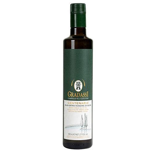 """Huile d'olive extra vierge Centenaria """"Gradassi"""" - 250 ml."""