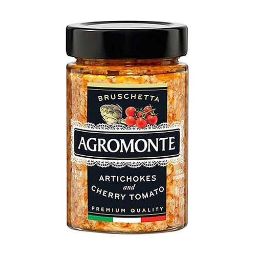 "Bruschetta d'artichaut et tomate cerise ""Agromonte"" - 100 gr."