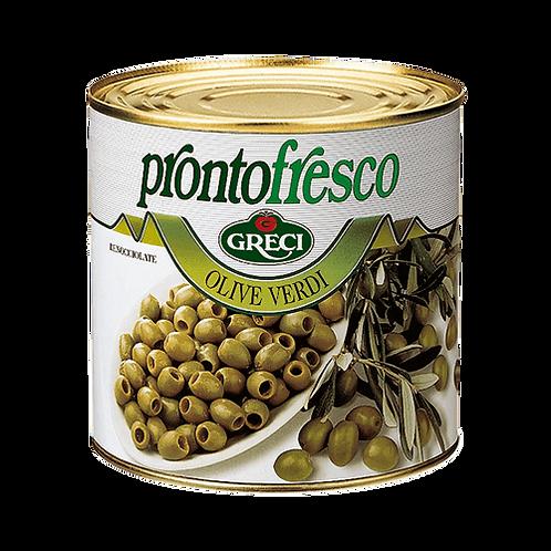 Olive Verdi denocciolate in salamoia - 2600 gr.