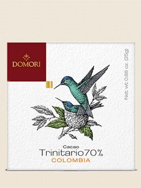 """The Origins Colombia 70% """"Domori"""" - 50 gr."""