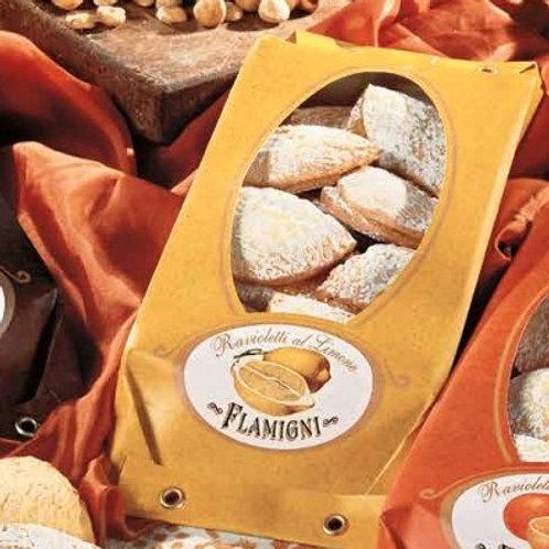 """Ravioletti crema al limone """"Flamigni"""" - 200 gr."""