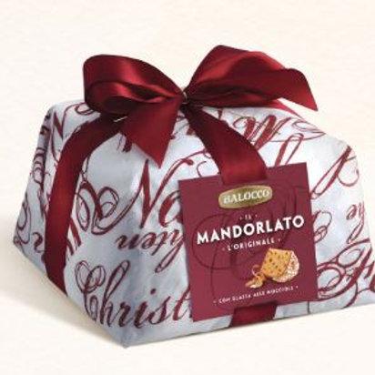 Panettone Mandorlato hand wrapped - 1kg