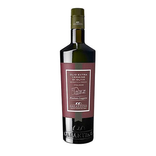 """Huile d'olive extra vierge légèrement fruité """"Frantoio Galantino"""" - 500 ml."""