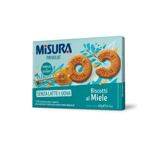 Biscuit au miel sans lait et oeufs Misura -  400 gr