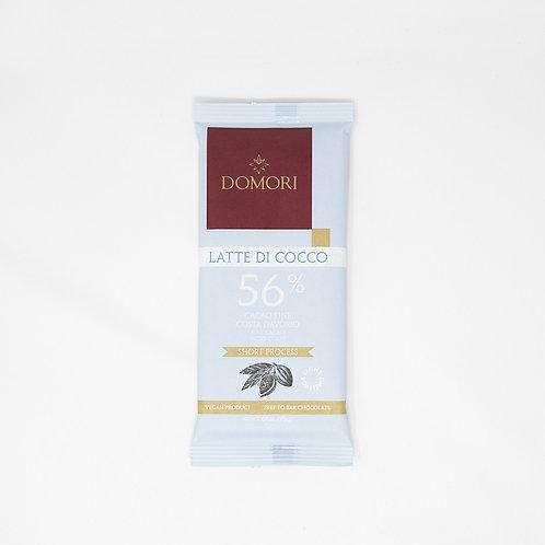"Coconut milk chocolate 56% ""Domori"" - 75 gr."
