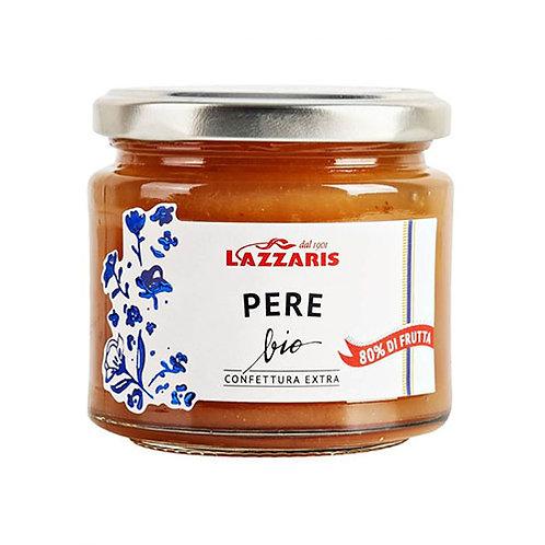 """Confiture Extra Poire Bio """"Lazzaris"""" - 230 gr."""