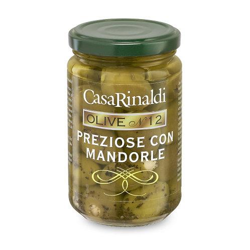 """Olives preziose aux amandes """"CASA RINALDI"""" - 290 gr"""