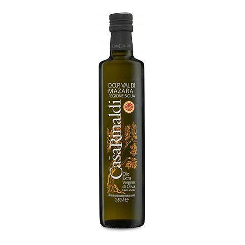 "Huile d'olive EVO ""Val di Mazara DOP"" (Sicilia) - ""Casa Rinaldi"" - 500 ml."