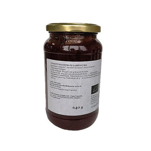 "Confiture Extra Framboise Bio ""Lazzaris"" - 640 gr."