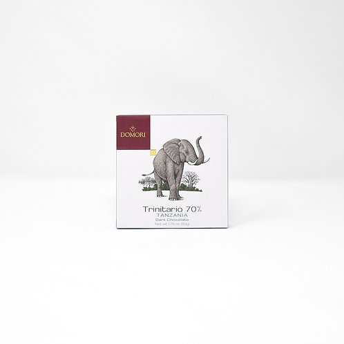 "The Origins Tanzania 70% ""Domori"" - 50 gr."