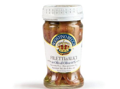 Filetti di acciughe all'Olio d'Oliva - 90 gr.