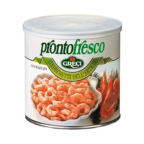 Crevettes lyophilisées - 105 gr.