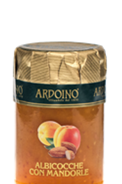 "Composta di albicocche e mandorle ""Ardoino"" - 346 gr."